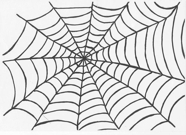 imprimable toile d araignee