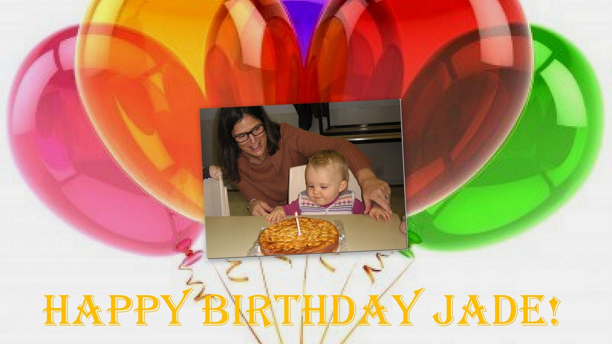 Joyeux Anniversaire Jade